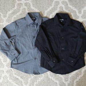 Boys Long Sleeve Dress Shirts Size XXS